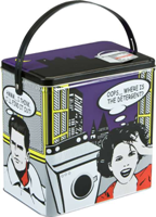 Washing Powder Tin - Comic - Min Order: 6