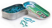 Sardines Canned Paper Clips - Min Order: 12
