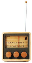 Eco Friendly Retro Hand Crafted wooden Radio - Min Order: 1