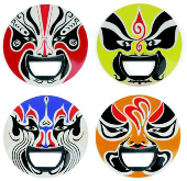 Tribal Masks - Bottle Openers - Min Order: 12