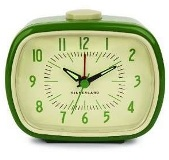 Retro Alarm Clock - Green - Min Order: 4 units