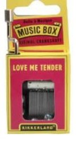 Music Boxes – Love Me Tender - Min Order: 6 units