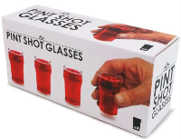 Pint Shot Glasses - Min Order: 6 units