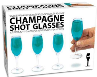 Champagne Shot Glasses - Min Order: 6 units