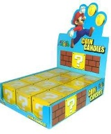 Super Mario Coin  Candies - Min Order: 12 units