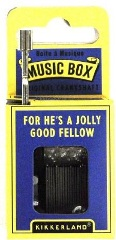 Music Box - For his a jolly good Fellow - Min Order: 6 units