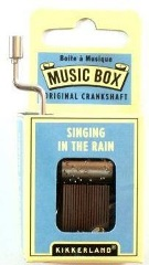 Music Box - Singing in the Rain - Min Order: 6 units