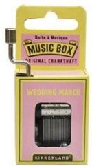 Music Box - Wedding March - Min Order: 6 units