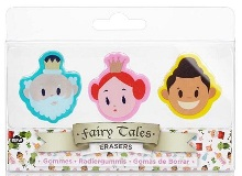 Fairytale Eraser Set - Min Order: 6 units