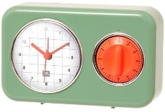 Kitchen Timer Matt -Green - Min Order: 3 units