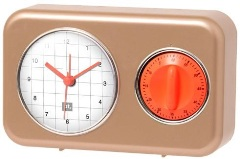 Kitchen Timer Matt Gold - Min Order: 3 units