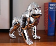 Money Bank Gorilla - Silver or Black- Min Order: 3 units