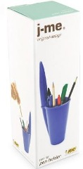 Bic Pen Holder- Blue or Black - Min Order: 6 units