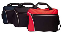 Ushaka Conference Bag - Avail in Black, Black/Cream, Black/Red o