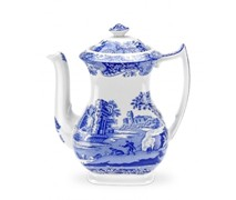 Portmeiron - Blue Italian Coffee Pot 1.1L - Min Orders Apply