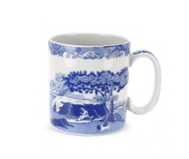 Portmeiron - Blue Italian Mug 0.25L - Min Orders Apply
