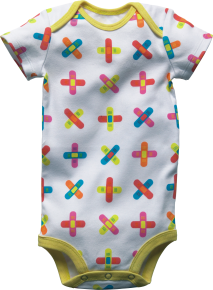 Ouchie Baby Grow (Min Order Qty - 4)