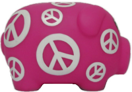 Symbol Mini Piggy Bank (Min Order Qty - 10)