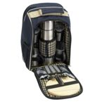 Antheia Coffee Picnic Backpack - Navy