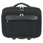 Pheme Nylon Laptop Bag - Black