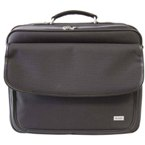 Ceto Nylon Laptop Bag - Black