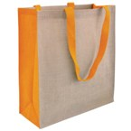 Kentucky 40Cm Eco Friendly Shopper Bag - Orange