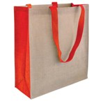 Kentucky 40Cm Eco Friendly Shopper Bag - Red