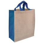 Kentucky 32Cm Eco Friendly Shopper Bag - Blue