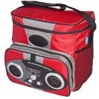 Icool Radio Cooler Bag - Red