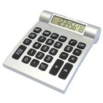 Aurora 12 Digit Calculator - Silver