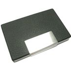Kirk Business Card Holder - Black
