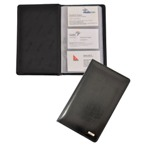 Brighton Business Card Holder - Black