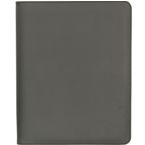 Kansas A4 Zipper Folder - Black