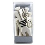 Arnold Palmer Divot Tool With Tees - White