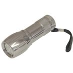 Opal 9 Led Torch - Silver