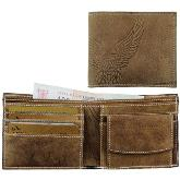 Leather Eagle Wallet -  Measures: 110mm(w) x 90mm(h) x 15mm(d) -