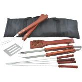 Assagai 9 Piece Bbq Set -  - Silver