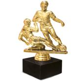 BRT Soccer Figurine - Avail in: Gold