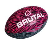 Brutal Rugby Ball - Still Pass Trainer - Avail in: Pink/Black