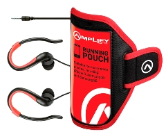 Amplify Pro 2-In-1 Jogger Earphones With Pouch