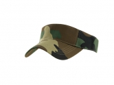 Camo Visor cap - Available in many colors
