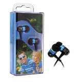 Canyon Headphone - In the ear - 1.35mm - Black and Blue      - 2