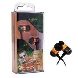 Canyon Headphone - In the ear - 1.35mm - Black and Orange  - 24