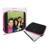 "Canyon Notebook Sleeve 14.1"" Black with Pink Trim  - 24 Month Wa"