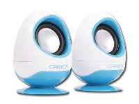 Canyon  speaker - (Stereo, 6W, 100Hz - 20kHz, USB) , egg Shape,