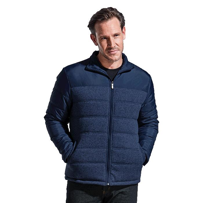 Barron Mens Colorado Jacket - Avail in: Charcoal Melange/Black o