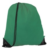 Basic Drawstring Bag - Bottle Green