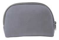 Neoprene Ladies Cosmetic Bag - Grey