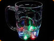 LED Beer Glass - on/off switch / Lift activated - Red