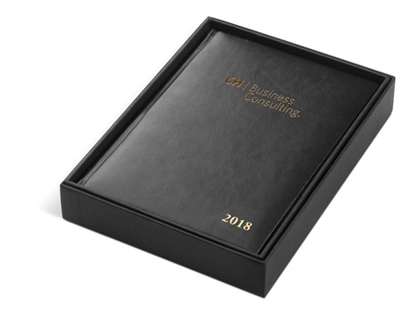 Craig Martini Executive Leather Time Management A5 Diary